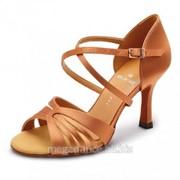 Обувь женская для танцев латина Клауди фото