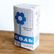Соль пищевая в бумажных пачках по 1,5кг фото