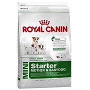 Mini Starter M&B Royal Canin корм для щенков и сук, Пакет, 8,5кг фото