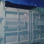 Переоборудование контейнера под зерновоз фото