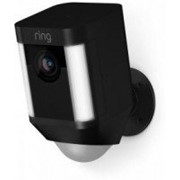 Умная уличная камера наблюдения Ring Spotlight Cam Battery Черный (8SB1S7-BEU0) фото