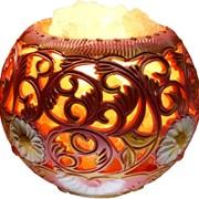 Соляная лампа Узоры радости 4кг фото