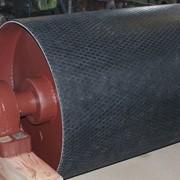 Обрезинивание (футеровка) приводных барабанов фото