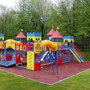 Беседки и детские площадки фото