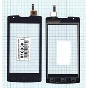 Сенсорное стекло (тачскрин) для Lenovo A (A1000) черное, Диагональ 4, 800x480 фото
