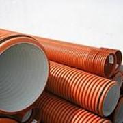 Трубы канализационная гофрированная ПРАГМА (PRAGMA)ID 200х6000 фото