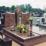 Изготовление надгробий из гранита фото