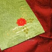 Скатерть с вышивкой 1717 фото