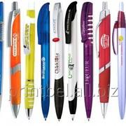 Логотип на ручках фото