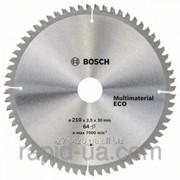 Пила дисковая по дереву Bosch 150x20/16x42z Multi ECO фото