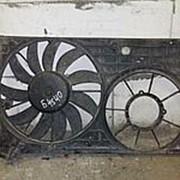 Диффузор с вентилятором 1K0121207T VW, Audi фото