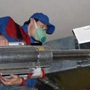 Очистка вентиляционных труб фото