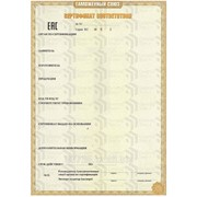 Сертификат соответствия ТР ТС фото