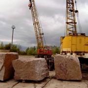 Блоки гранитные, куб.м. фото