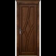 """Дверь из массива ольхи """"Глория"""" фото"""