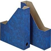 Вертикальный накопитель Attache Мрамор 70мм синий 2шт/уп (сборн) фото