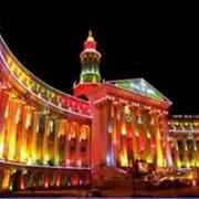 Архитектурно-декоративное освещение зданий и сооружений, улиц фото