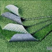 Синтетический газон фото
