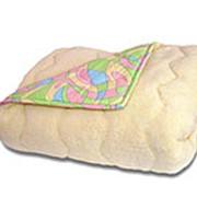 Одеяло комбинированное ткань поликотоно/мех фото