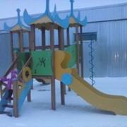 Детская игровая площадка (детские комплексы) производство и монтаж РК фото