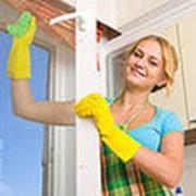 Мытье окон, витражей. фото