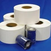 Этикетки самоклеящиеся этикетки в рулонах фото