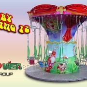Детская цепная карусель Baby Swing Code MX34-A фото