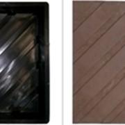 Формы для тактильной плитки Диагональные рифы 300х300х30 фото