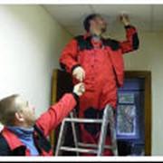 Монтаж пожарных систем. фото