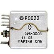 Реле электромагнитное слаботочное типа РЭС 22 66 7113 8010 РХО.450.006 ТУ фото