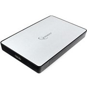 Корпус для HDD 2.5 SATA Gembird EE2-U3S-31P до 2 Тб, серебристый, usb 3.0 фото