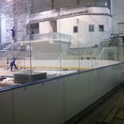 Борт хоккейный фото