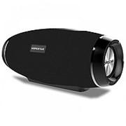 Портативная стерео колонка Hopestar H27 (Bluetooth, MP3, AUX, Mic) (Черный) фото