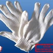 Перчатки рабочие хлопчатобумажные повышенной прочности с поверхностным слоем из полиэфирной нити фото