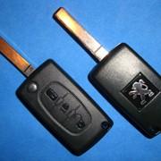 Ремонт, изготовление и продажа авто чип ключей на пежо peugeot фото