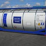 Перевозки наливных грузов в танк-контейнерах фото