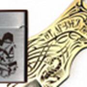 Лазерная гравировка на металле, дереве, пластике фото