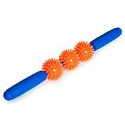 Мячи массажные с ручкой М-403 фото