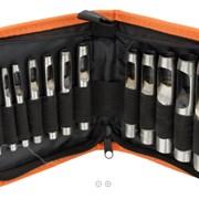Набор просечек, 12 шт. (от 3 до19 мм) в сумке фото