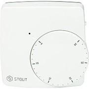 STOUT Термостат комнатный электронный WFHT-DUAL включ. дистанционный датчик «в пол» L=3 м фото