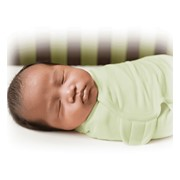 Конверт Summer Infant Конверт на липучке Swaddleme®, размер S/M, зеленый фото