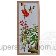 Набор для вышивки картины Яркие птички 91х40см 373-37010683 фото
