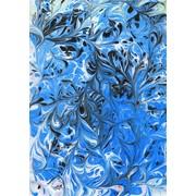 Картины на воде, турецкая техника (Эбру) фото