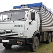 Перевозка зерна зерновозами. Воронеж. фото