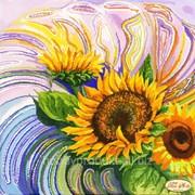 """Рисунок на ткани для вышивания бисером """"Солнечная Фантазия"""" ТА-081 фото"""