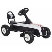 Педальный картинг Anhuitech Буга-ти с надувными колесами K02 фото