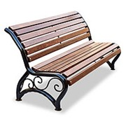 "Скамейка уличная ""Афина УНИ"", кресло, 0,6м фото"