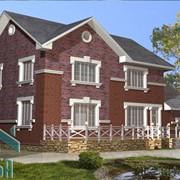 Проект кирпичного дома фото