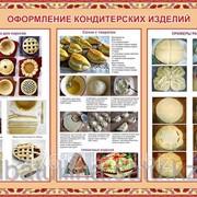 Плакат Оформление кондитерских блюд Г.38 фото