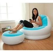 Надувное Кресло Intex 68572, разные цвета. Размер-109x104x71 фото